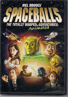 Spaceballs - The Animated Spoof (DVD) New