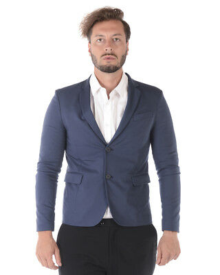 Giacca Imperial Jacket Cotone MADE IN ITALY Uomo Blu JZC3TKF 1650 1df48eaf1cc