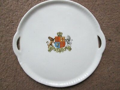 Gemma Crested China Tray with Royal Arms