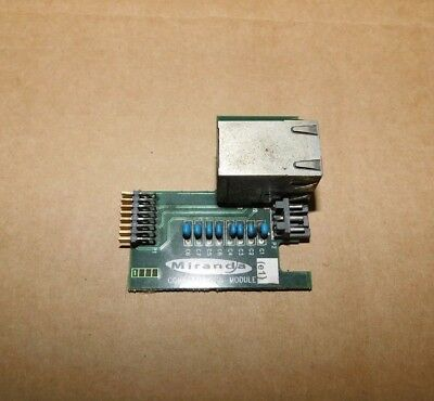Miranda Communication Module Control Board W/90 Day Warranty 1624-0200-200