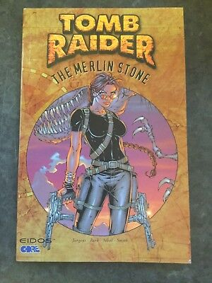 Tomb Raider The Merlin Stone First Edition