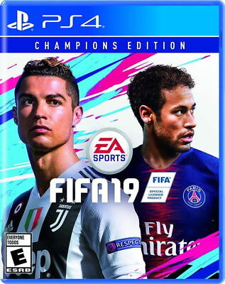 FIFA 19 - Champions Edition PS4 [Brand New]
