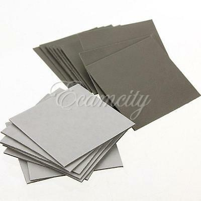 20x 25*25mm Sticker Square Sided Thermal Adhesive Tape for Heatsink heat sink !