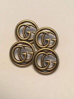 GUCCI GG Buttons - Listing for 4 Buttons