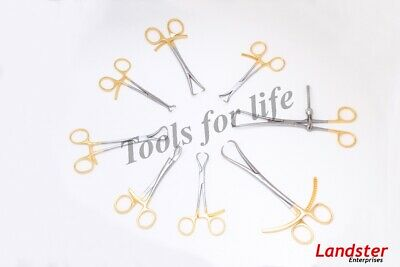 Set of 9 PCs Bone Reduction Forceps Orthopedic Surgical Veterinary Instruments