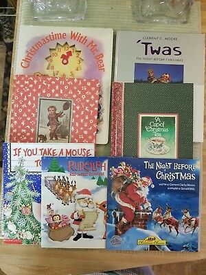 7 Christmas family & picture books Cup of Tea Twas the Night Rudolph Family
