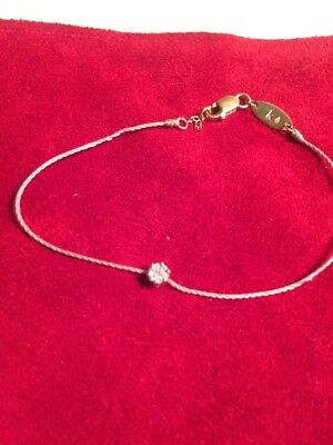 En Baisse ! Redline Bracelet Illusion Diamants Or Jaune Fil Gris Bangle Wristlet