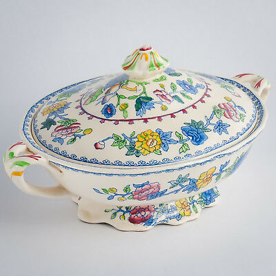 Mason's Regency Plantation OLD COLONIAL Vegetable Tureen & Cover