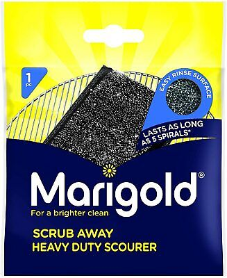 20 Marigold No More Elbow Grease Sponge Stainless Steel Cleaning Washing Up Pad