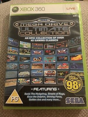 Sega Mega Drive: Ultimate Collection (Microsoft Xbox 360, 2009) - European...