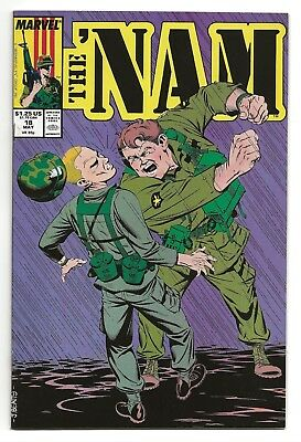 "The 'Nam #18  NM  1988 ""Bombs Bursting""    *Free Shipping*"