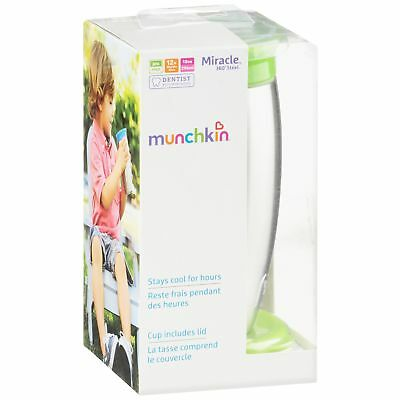 Munchkin Miracle 360 Spoutless Sippy Cup - Stainless Steel