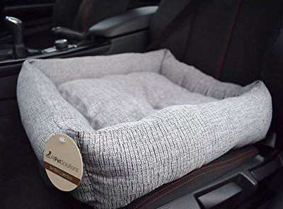 All Pet Solutions Travel Pet Dog/Cat Puppy Car Bed Safety Booster Seat Protector
