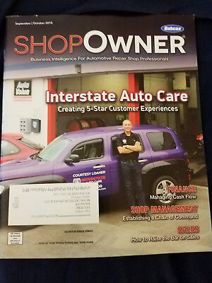 Babcox Shop Owner Mag: Sept/Oct 2018: Interstate Auto Care, Finance, Sales, etc