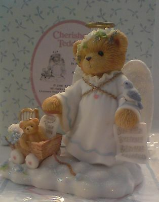 Cherished Teddies Fay An Angel's Touch Is Never Far Away