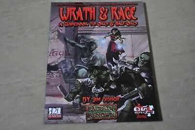 WRATH & RAGE A Guidebook to Orcs and Half Orcs Races of Renown Dungeons Dragons