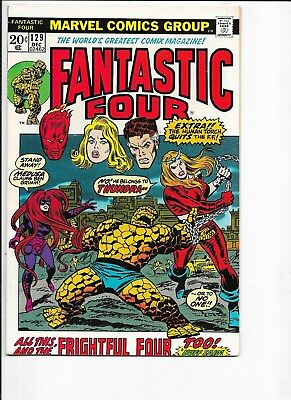 Fantastic Four  #129  VFN/NM  1st Thundra