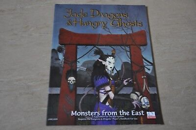 JADE DRAGONS and HUNGRY GHOSTS Monsters from the East d20 AD&D 13327