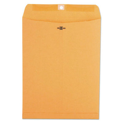 Kraft Clasp Envelope, Center Seam, 28lb, 9 1/2 x 12 1/2, Brown Kraft, 100/Box