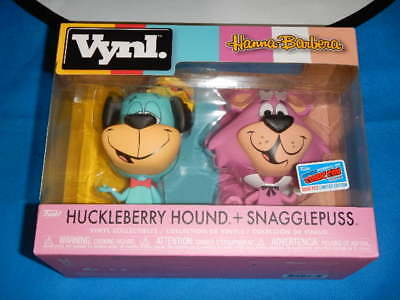 """official"" Nycc 2018 Funko Vynl. Hanna Barbera Huckleberry Hound Snagglepuss 1"