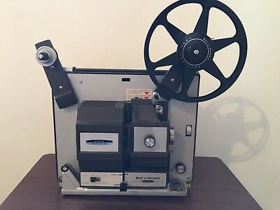 Bell & Howell 456 Dual 8mm Super 8 Projector Tested Working **Read Description**