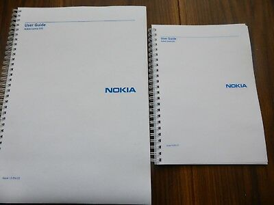 Nokia Lumia 530 User guide Instruction manual  PRINTED IN FULL COLOUR A4 or A5