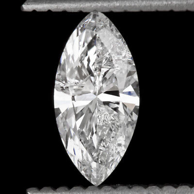 NATURAL MARQUISE CUT 0.70ct DIAMOND E COLOR EGL-USA CERTIFIED LOOSE PENDANT RING