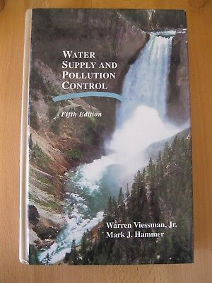 Water Supply and Pollution Control, Viessman and Hammer (Hardcover 1993)