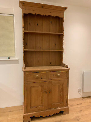 Small Solid Pine Farmhouse Dresser - Victorian Style - Shabby Chic - Project