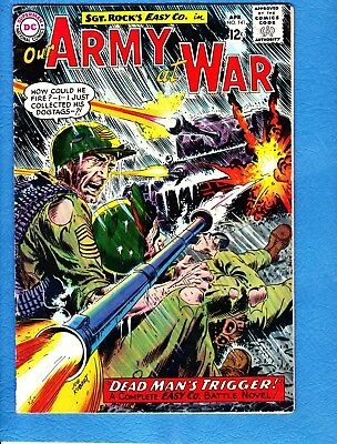 Our Army at War #141,1964, VG/FN 5.0