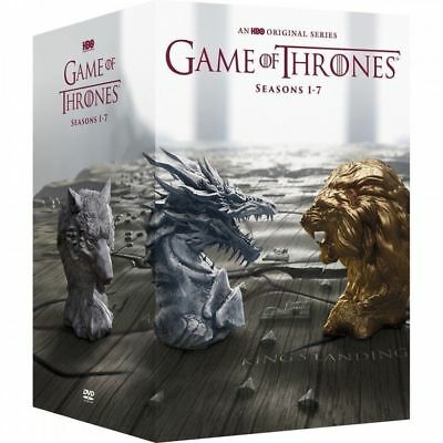 GAME OF THRONES:Seasons 1-7/ Season 1234567(DVD, 34 Disc Set) Brand New, Sealed