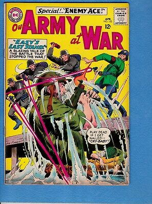 Our Army at War #153, 1965, VG/FN 5.0,2nd appearance Enemy Ace