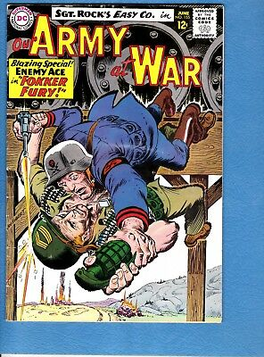Our Army at War #155, 1965, VG/FN 5.0,3rd appearance Enemy Ace