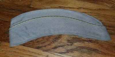Original WW2 US Army Summer Womens Overseas Cap / Hat with Laundry # Inside