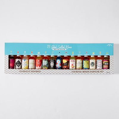 NEW The Modern Cocktail 15 Pack Global Mixers World Tour Collection
