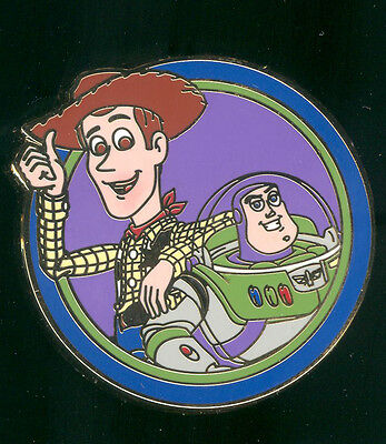 Best Friends Mystery Pack Buzz and Woody Toy Story Disney Pin 90189