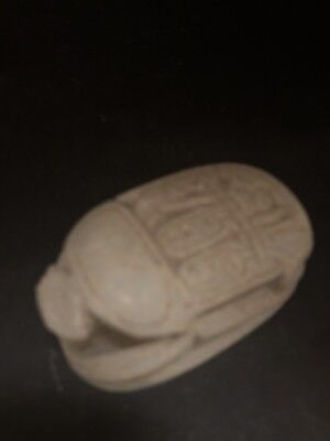 Rare Ancient Egyptian Scarab 26th DYN 680 BC