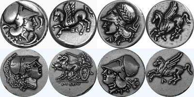 Athena and Pegasus 4 Famous Greek Coins, Percy Jackson Fans (4AthPeg-S)