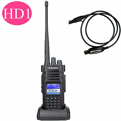 Ailunce HD1 UHF/ VHF 2-Way Radio Dual Band DMR Digital DCDM TDMA 3200mAh+USB AU