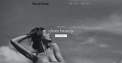 Skincare brand 'Oat & Grind' for sale