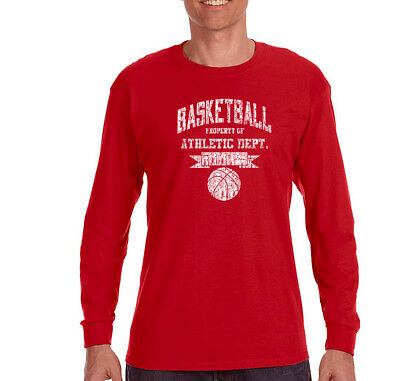 Mens Basketball Property of Athletic Dept Sports Fan Day Long Sleeve T-Shirt