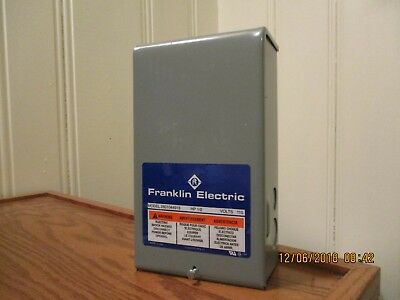 Franklin Electric control box for submersible pump 1/2hp & 115 volts