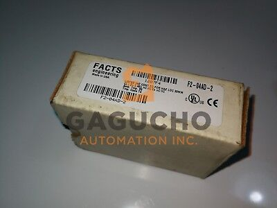 Automation Direct F2-04AD-2 Output Module IN BOX FACTS ENGINEERING