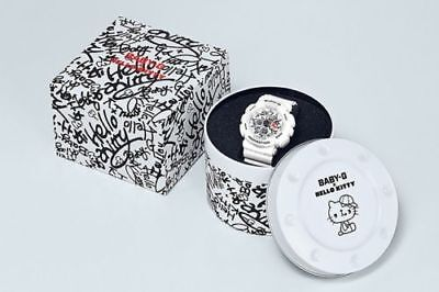 Casio Baby-G x Hello Kitty BA-120KT-7 Limited Edition White Rare WithTags