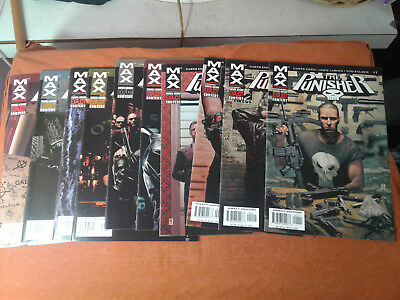 Punisher Max #'s 1-18, Annual, The End lot of 20 Garth Ennis