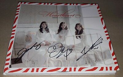 Berrygood Heart Heart 난리가 난리가 났네 Real Signed Autographed Promo Cd #1