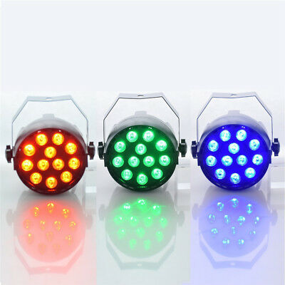 Par Light 12 LED RGB 3IN1 18W 1.5*12LED Stage Lighting DMX 512 Club Disco Party