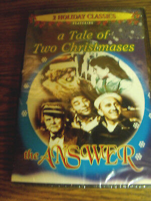 A Tale Of Two Christmases/the Answer (Dvd-Brand New-Full Screen-Black And White)