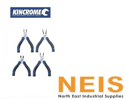 Kincrome Technicians Mini Plier Set – 4 Piece K4226