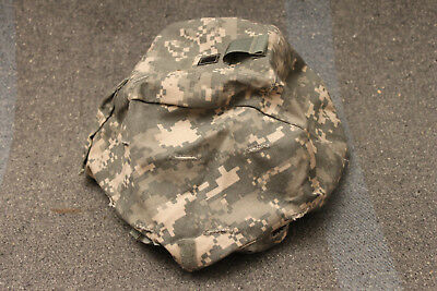 US Military Issue Army ACU Camouflage ACH MICH Combat Helmet Cover Size S/M